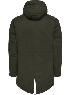 onsklaus parka winter jacket noos 22010255 only & sons jas forest night