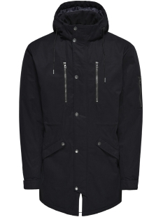 Only & Sons Jas onsKLAUS PARKA WINTER JACKET NOOS 22010255 Black