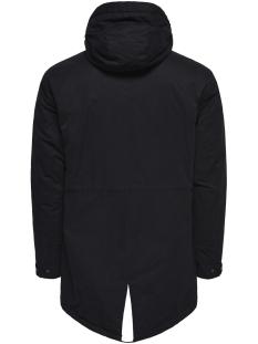 onsklaus parka winter jacket noos 22010255 only & sons jas black
