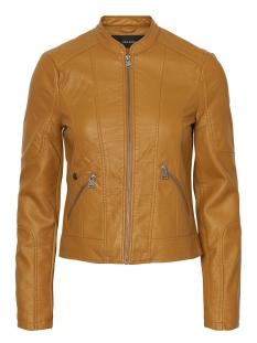 Vero Moda Leren jas VMEUROPE FAVO FAUX LEATHER JACKET I 10199179 Thai Curry