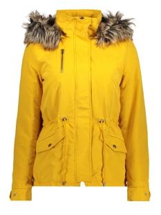 onlnew starlight fur parka cc otw 15156509 only jas golden yellow