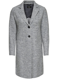 Only Jas onlVIKKI WOOL COAT CC OTW 15156563 Light Grey Melange