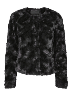 Vero Moda Jas VMCURL SHORT FAKE FUR JACKET NOOS 10189531 Black