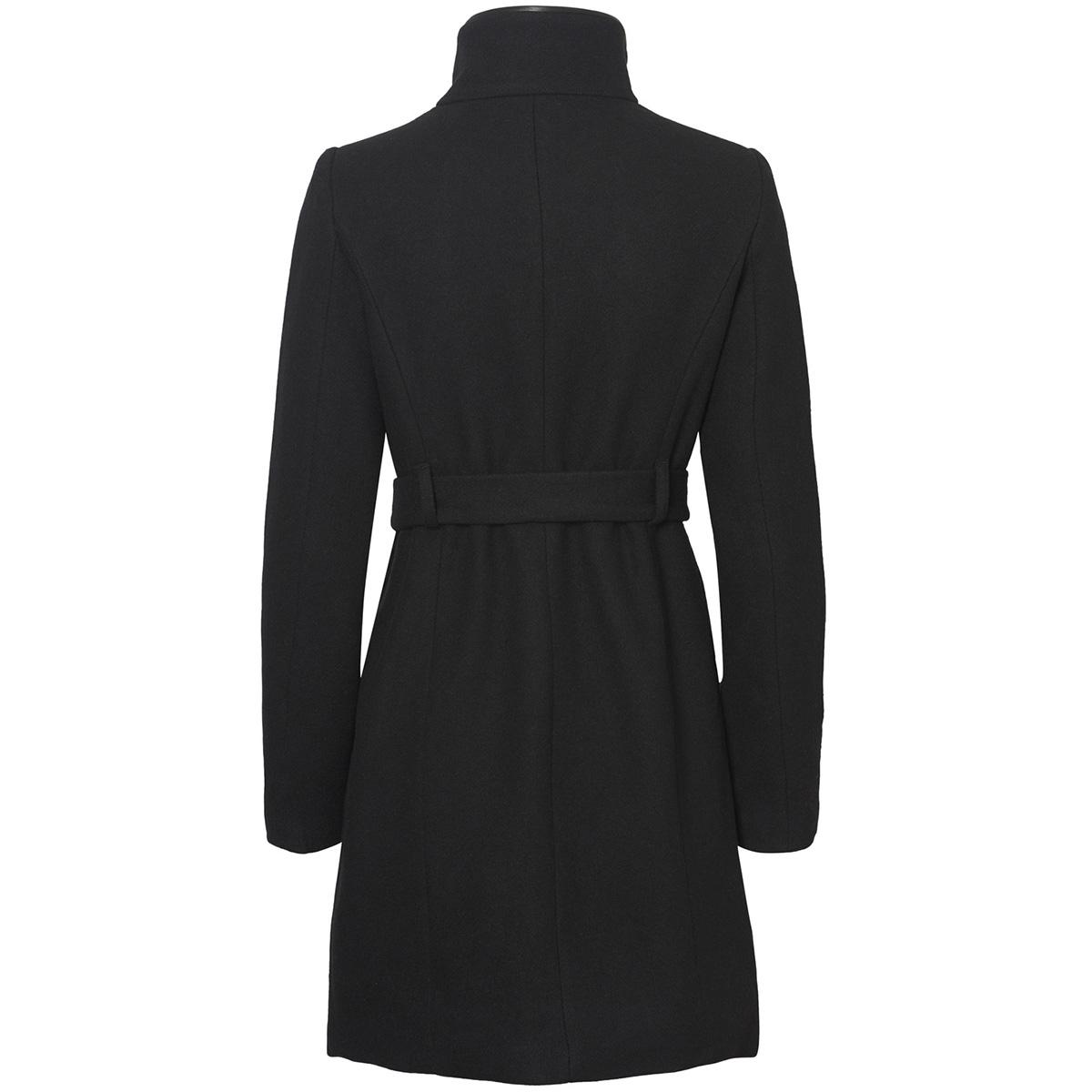 vmbessy class 3/4 wool jacket noos 10199024 vero moda jas black