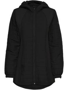 Only Play Sport jas onpHILLS HOOD LONG JACKET 15154169 Black/W. Black