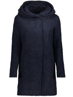 onlsedona boucle wool coat otw noos 15156578 only jas night sky/melange