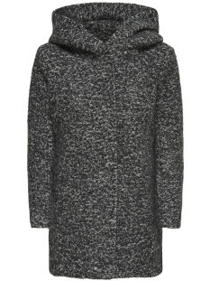 Only Jas onlSEDONA BOUCLE WOOL COAT OTW NOOS 15156578 Dark Grey/MELANGE