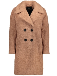 Only Jas onlPALOMA BOUCLE LONG WOOL COAT OTW 15158221 Camel