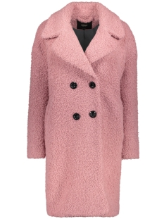 Only Jas onlPALOMA BOUCLE LONG WOOL COAT OTW 15158221 Baroque Rose