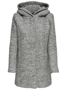 Only Jas onlSEDONA BOUCLE WOOL COAT OTW NOOS 15156578 Light Grey/ MELANGE