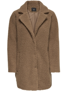 Only Jas onlAURELIA OVERSIZED SHEARLING COAT 15158218 Camel