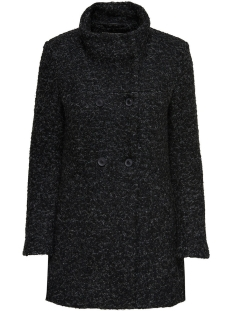 Only Jas onlSOPHIA BOUCLE WOOL COAT CC OTW 15156577 Black/Melange