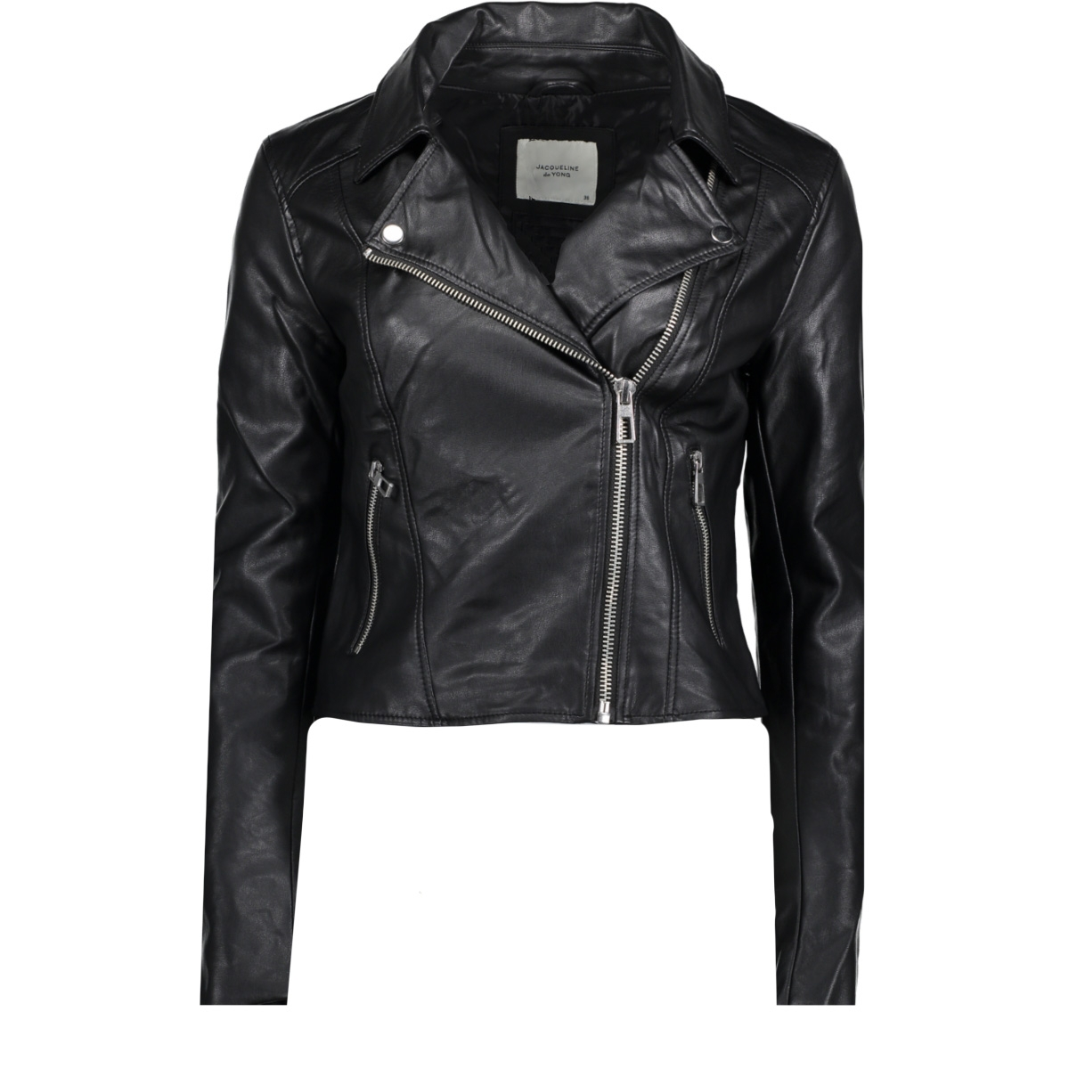 jacket yong 15160981 de jacqueline o short jdyesma faux leather jas nx4ngH