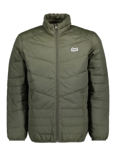 Jack & Jones Jas JORBEND STAND COLLAR 12138350 Forest Night