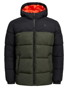 Jack & Jones Jas JCOCROSS JACKET HOOD 12137829 Rosin/BLOCKING