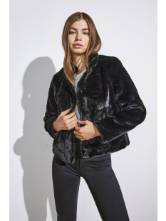 Only Jas onlVIDA FAUX FUR JACKET OTW NOOS 15160013 Black