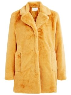 Vila Jas VILICIOUS FAUX FUR JACKET 14049872 Golden Yellow
