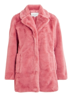 Vila Jas VILICIOUS FAUX FUR JACKET 14049872 Barberry