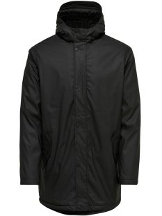 Only & Sons Jas onsAKELLO RAIN JACKET 22010265 Black