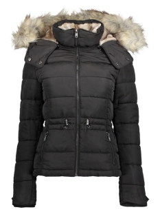 Only Jas onlVIGGA SHORT QUILTED NYLON JACKET  15159389 Black