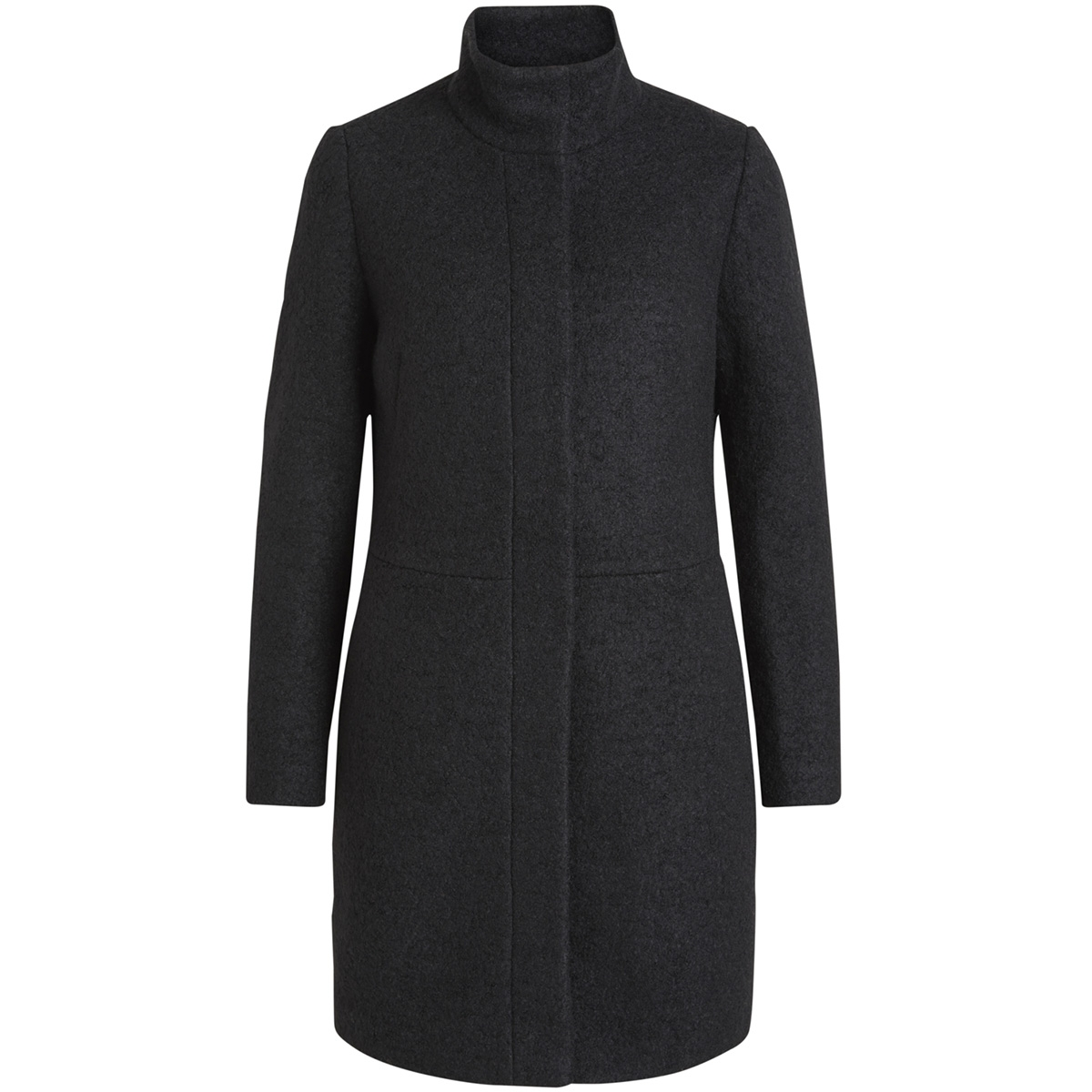 vialanis coat-noos 14047046 vila jas black