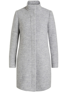 Vila Jas VIALANIS COAT-NOOS 14047046 Light Grey Melange
