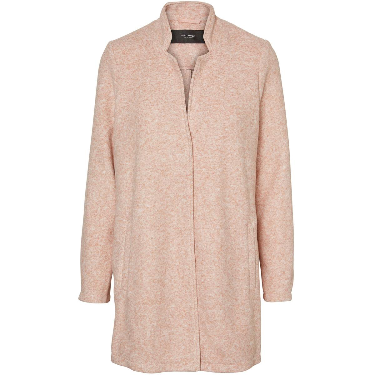 vmbrushed katrine  3/4 jacket boos 10198835 vero moda jas old rose