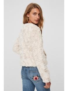 vmcurl short fake fur jacket noos 10189531 only jas oatmeal