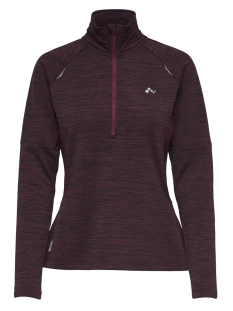 Only Play Sport trui onpWYNONA RUN BRUSHED HALF ZIP 15159560 Rhododendron