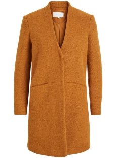 Vila Jas VITEA NEW WOOL BOUCLE JACKET 14049639 Cathay Spice