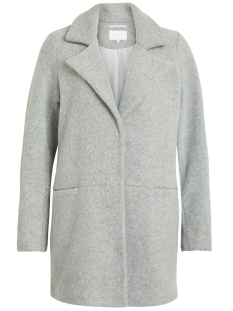 Vila Jas VIDORY COAT/PB 14047061 Light Grey Melange