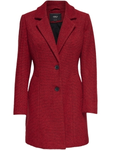 Only Jas onlBEATRICE HS LONG WOOL COAT OTW 15164508 Goij Berry