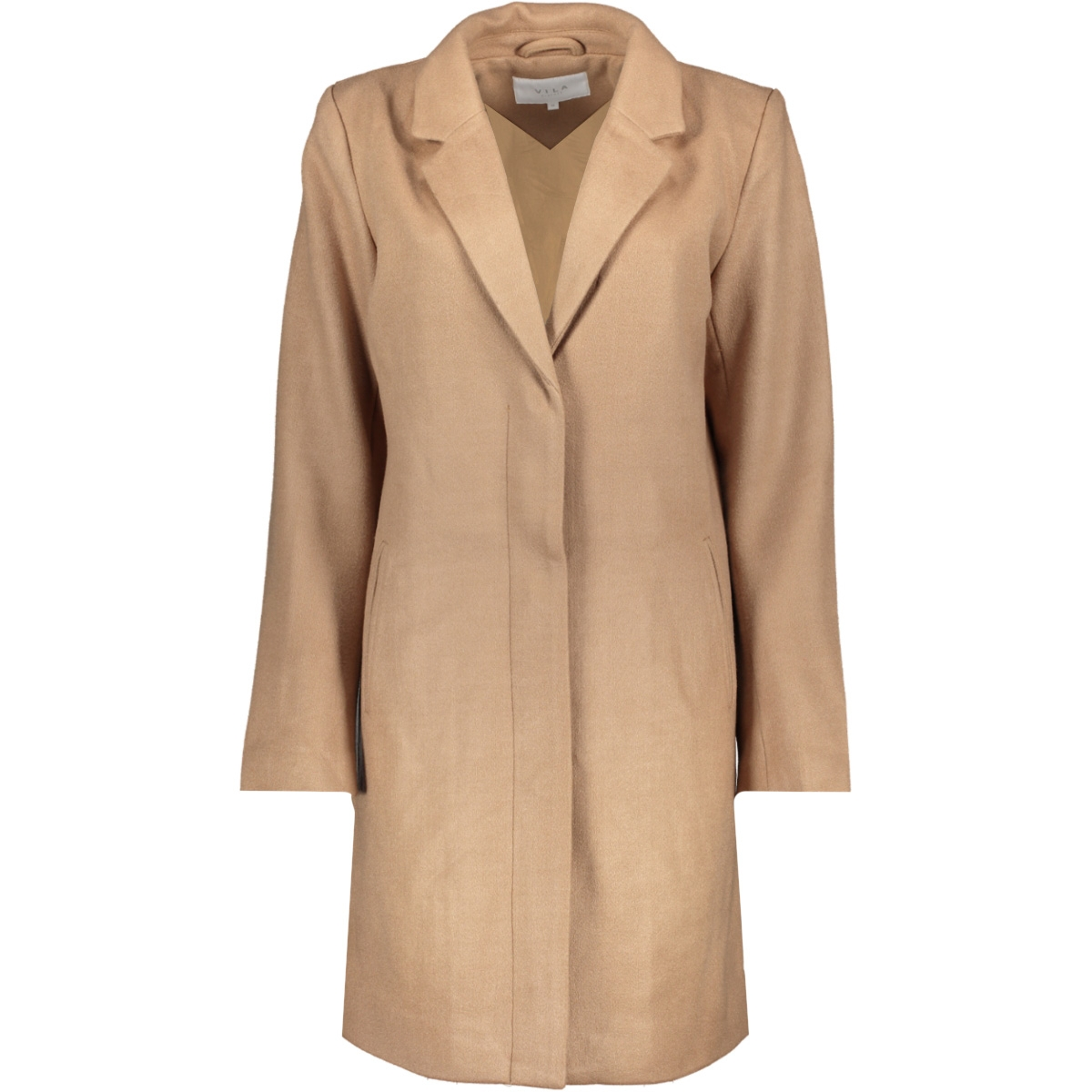 vicamdon coat/1 14049518 vila jas dusty camel