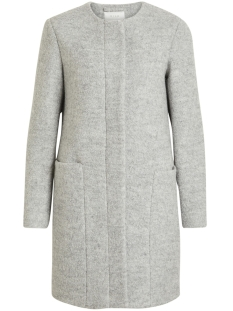 Vila Jas VICOFFEE WOOL COAT/PB 14047047 Light Grey Melange