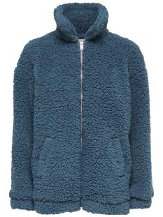 jdyharlow teddy jacket otw qiq 15164828 jacqueline de yong jas legion blue