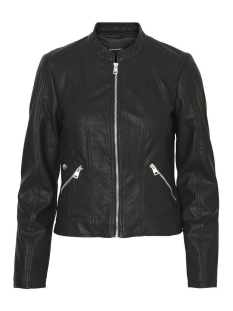 Vero Moda Jas VMKHLOE  FAVO FAUX LEATHER JACKET NOOS 10212316 Black