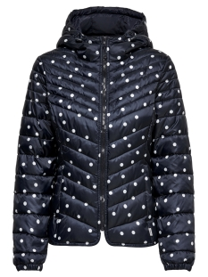 Only Jas onlDEMI AOP HOODED JACKET CC OTW 15168838 Night Sky/DOT
