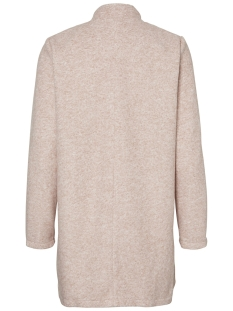 vmbrushed katrine  3/4 jacket boos 10198835 vero moda jas silver mink/ melange