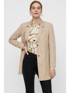 vmsigga verodona 3/4 jacket boos 10206988 vero moda jas silver mink/melange