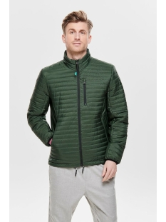 onsanton highneck jacket otw 22011946 only & sons jas deep forest