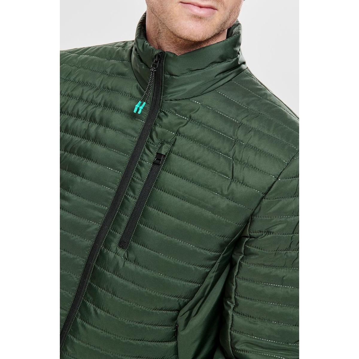 onsanton highneck jacket otw 22011946 only & sons jas deep forest