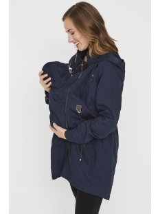 mltaffy 3 in 1 carrie me jacket 20009320 mama-licious positie jas navy blazer