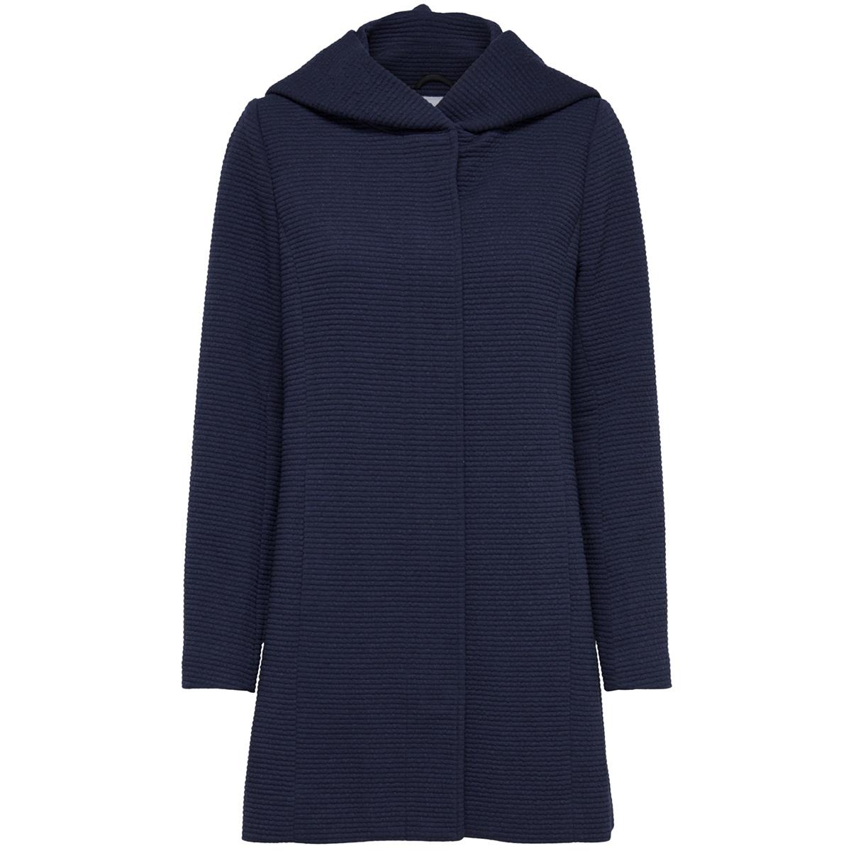 onlsedona link spring coat cc otw 15167850 only jas black iris/melange
