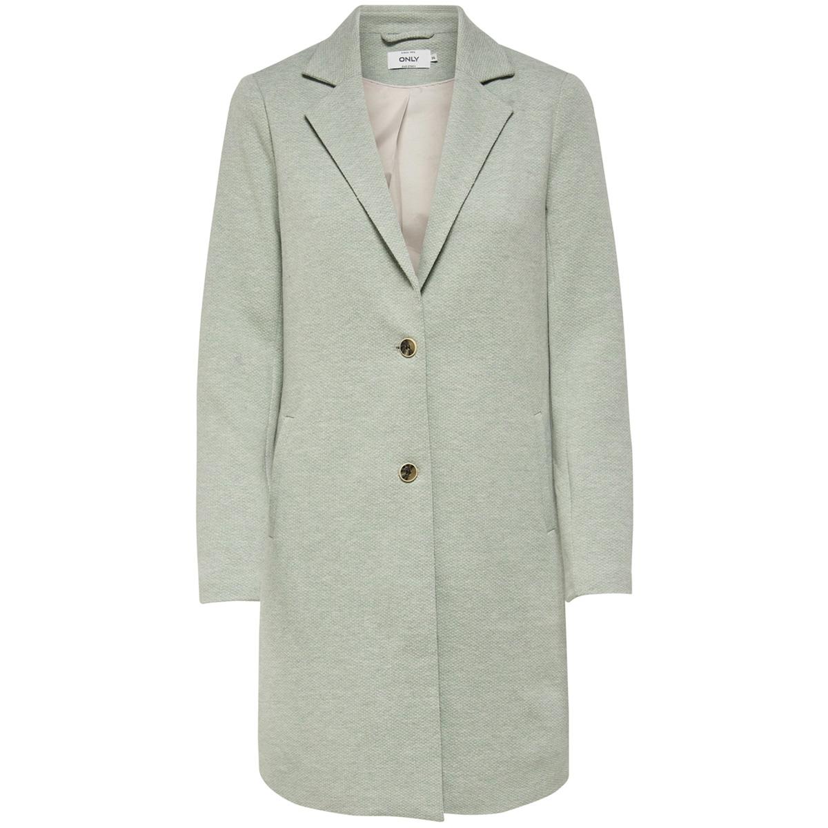 onlcarrie mel coat otw noos 15173066 only jas lichen/ melange