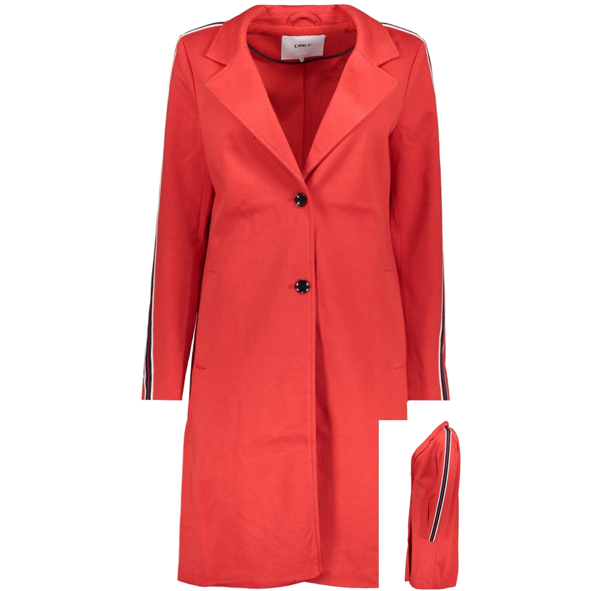 onlliselle ruby loose coat otw 15170070 only jas mars red