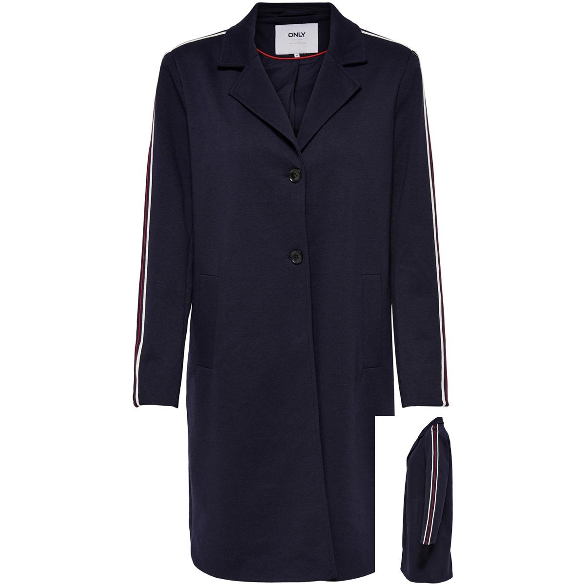 onlliselle ruby loose coat otw 15170070 only jas night sky/ melange