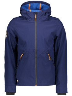 Superdry Jas M50014WT MOUNTAIN SOFTSHELL ZIPH NAVY/ MARINE BLUE