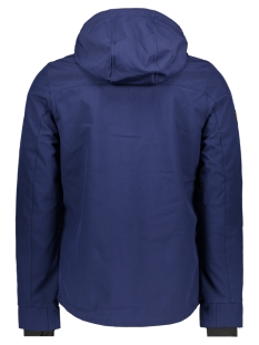 m50014wt mountain softshell ziph superdry jas navy/ marine blue