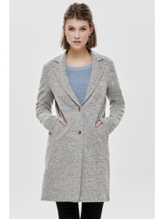 onlcarrie mel coat otw noos 15173066 only jas light grey melange