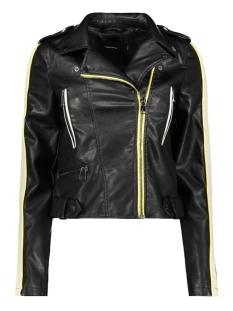 Vero Moda Jas VMINA SHORT FAUX LEATHER JACKET 10209255 Black/YARROW